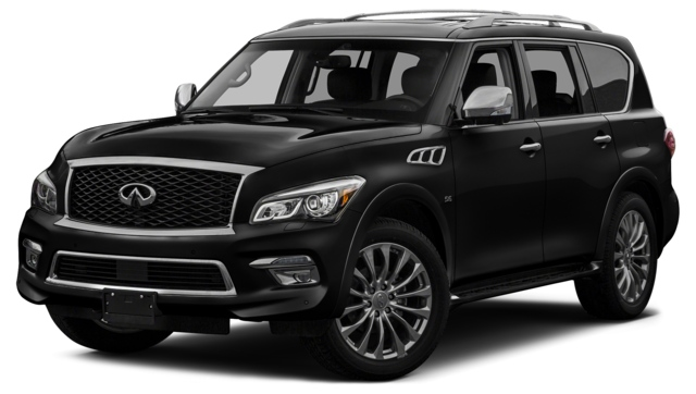 2017 INFINITI QX80 Houston, TX  JN8AZ2ND8H9830481