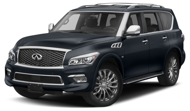 2017 INFINITI QX80 Houston, TX  JN8AZ2NE3H9156023