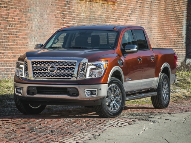 2017 Nissan Titan The Dalles, OR 1N6AA1EJ3HN545761