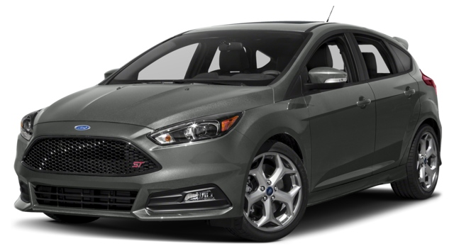 2017 Ford Focus ST Los Angeles, CA 1FADP3L94HL277498