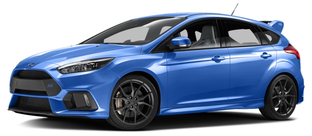 2017 Ford Focus RS Los Angeles, CA WF0DP3THXH4121295