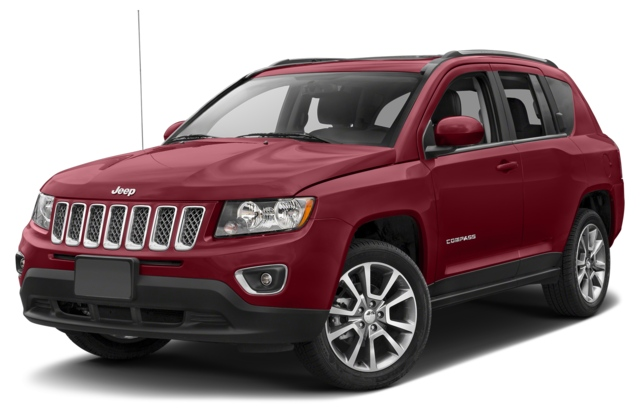 2017 Jeep Compass Columbus, IN 1C4NJCEB1HD166417