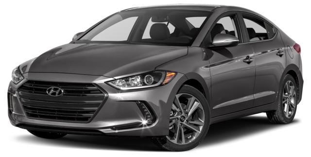 2017 Hyundai Elantra Indianapolis, IN KMHD84LF3HU223523