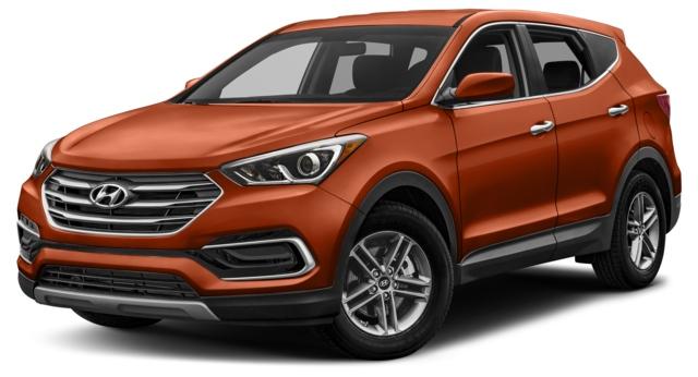 2017 Hyundai Santa Fe Sport Decatur, IL 5XYZU3LB9HG492754