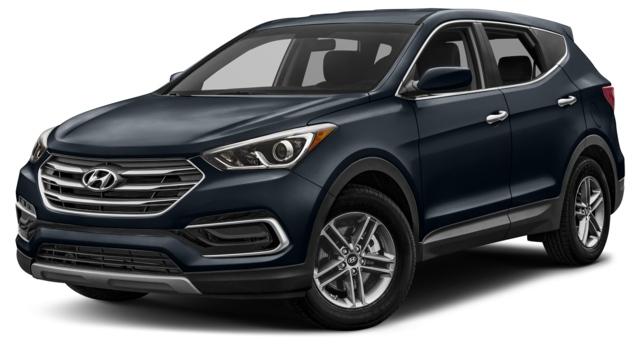 2017 Hyundai Santa Fe Sport Decatur, IL 5XYZUDLBXHG436425