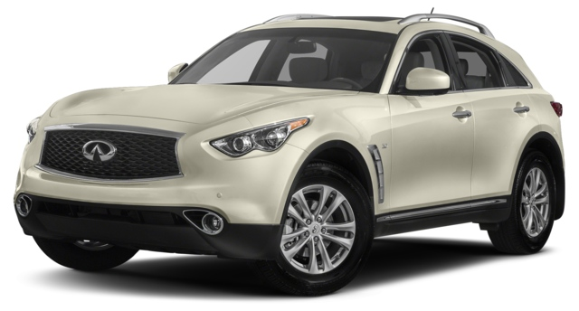 2017 INFINITI QX70 Houston, TX  JN8CS1MU7HM140114