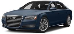 2014 Audi A8 Lee's Summit, MO WAURGAFD7EN004976