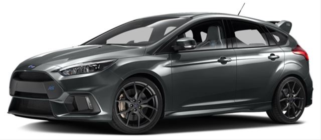 2017 Ford Focus RS Los Angeles, CA WF0DP3TH8H4123711