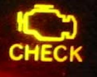 Check engine Prius