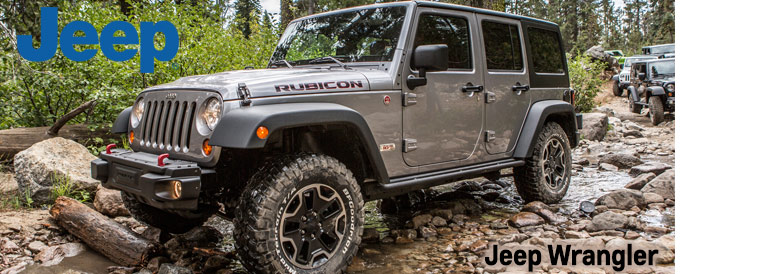 New Jeep Wrangler Rubicon
