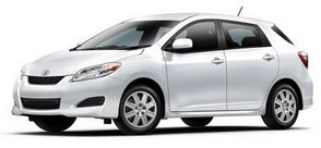Toyota Matrix Scheduled Maintenance Guide