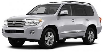 Toyota Land Cruiser Scheduled Maintenance Guide