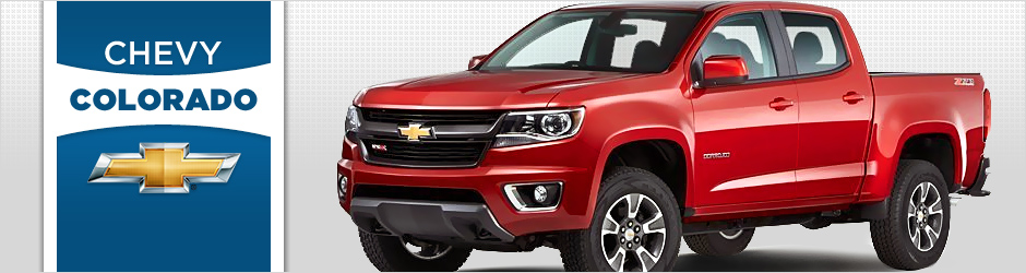 The New 2015 Chevy Colorado Is Coming To Cedar Rapids